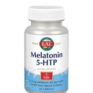 Melatonin 5-HTP 60 Tabs by Kal (2590205673557)