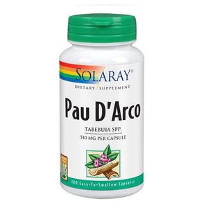 Pau D'Arco 100 Capsules by Solaray