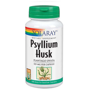 Psyllium Husk 100 Caps by Solaray (2590207213653)