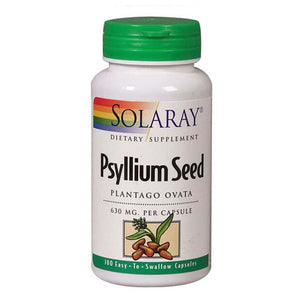 Psyllium Seeds 100 Caps by Solaray