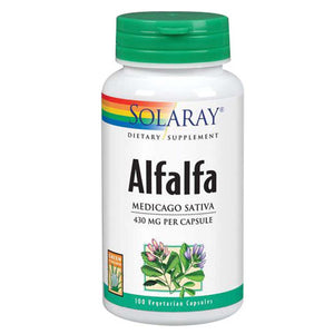 Alfalfa 100 Caps by Solaray (2590208655445)