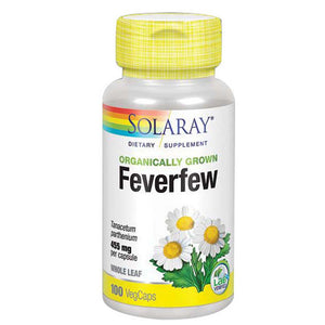Feverfew 100 Caps by Solaray (2590208819285)