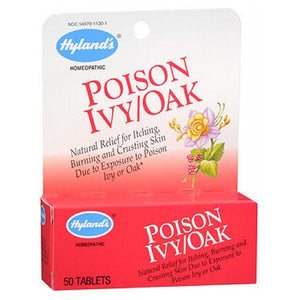 Hylands Poison Ivy Oak Tablets 50 Tablets by Hylands