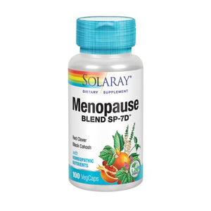 Menopause Blend SP-7D 100 Caps by Solaray (2590209376341)