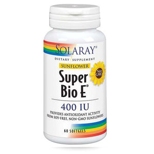 Sunflower Vitamin E 60 Softgels by Solaray (2590209769557)