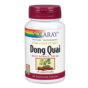 Dong Quai Root Extract 60 Caps by Solaray (2590210326613)