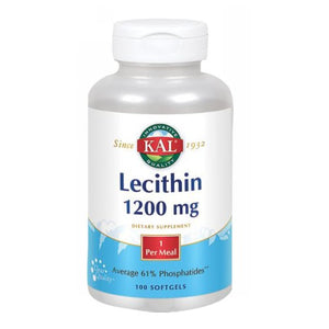 Lecithin 100 Softgels by Kal