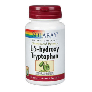 L-5-Hydroxy Tryptophan 60 Caps by Solaray