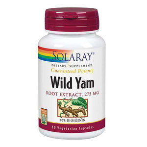 Wild Yam Root Extract 60 Capsules by Solaray