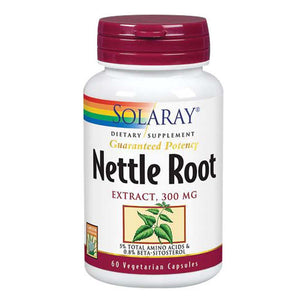 Nettle Root Extract 60 Caps by Solaray (2588371550293)