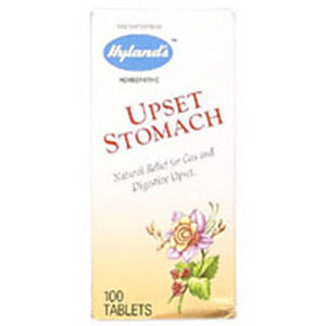Upset Stomach 100 Tabs by Hylands (2588687040597)