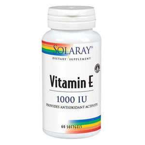 Vitamin E 60 Softgels by Solaray (2590214291541)