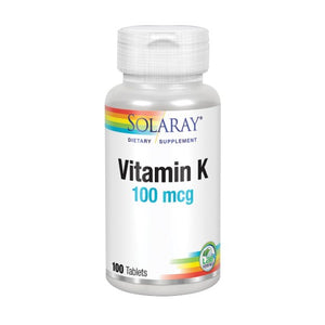 Vitamin K 100 Tabs by Solaray