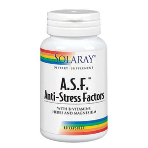 A.S.F. Anti-Stress Factors 60 Caps by Solaray (2590214684757)