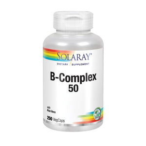 B-Complex 50 250 Caps by Solaray (2590214848597)