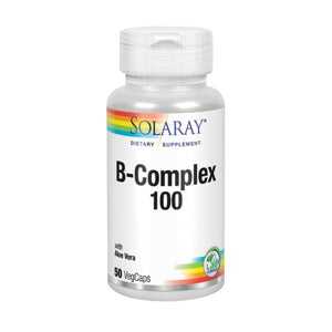 B-Complex 100 50 Caps by Solaray (2590215012437)