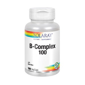 B-Complex 100 100 Caps by Solaray (2588374466645)