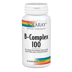B-Complex 100 250 Caps by Solaray (2590215045205)