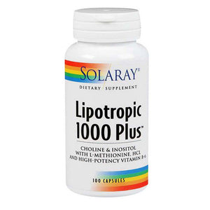 Lipotropic 1000 Plus 100 Caps by Solaray