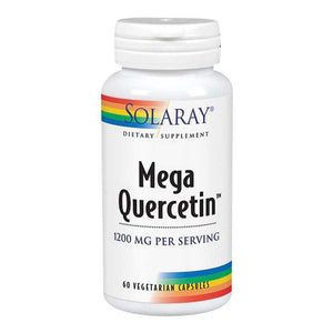 Mega Quercetin 60 Caps by Solaray (2590216421461)