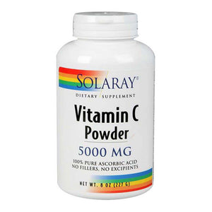 Vitamin C Powder 8 oz by Solaray