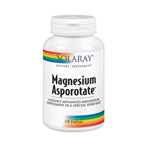 Magnesium Asporotate 120 Caps by Solaray