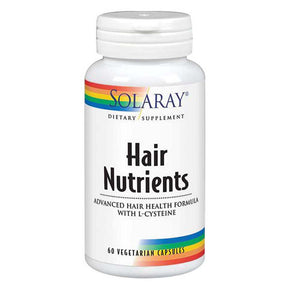 Hair Nutrients 60 Caps by Solaray