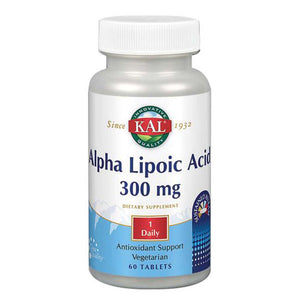 Alpha Lipoic Acid Timed Release 60 Tabs by Kal