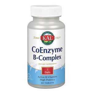 Coenzyme B-Complex 60 Tabs by Kal (2590220222549)