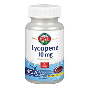 Lycopene 60 Softgels by Kal (2590221107285)
