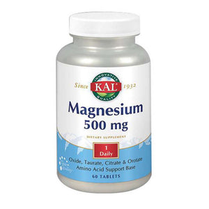 Magnesium 60 Tabs by Kal