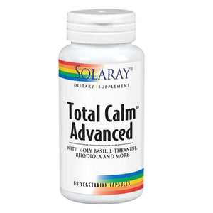 Total Calm Advanced 60 Caps by Solaray (2590224515157)