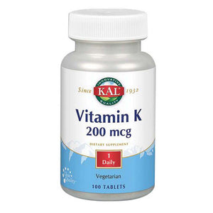 Vitamin K 100 Tabs by Kal