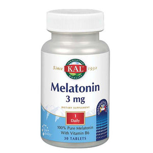 Melatonin SR 60 Tabs by Kal (2590226251861)
