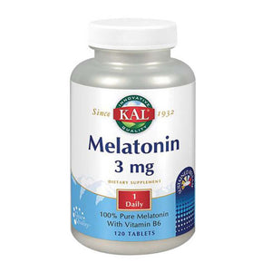 Melatonin 60 Tabs by Kal (2590226415701)