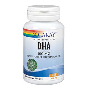 DHA 60 Softgels by Solaray (2590227791957)