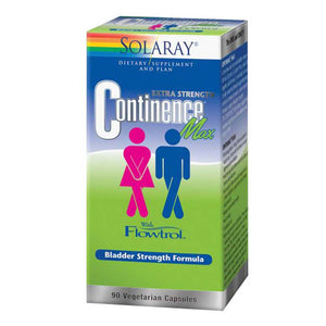 Continence Max with Flowtrol 90 Caps by Solaray (2590227857493)