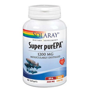 Super PureEPA 90 Softgels by Solaray (2590228021333)