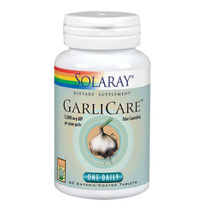 GarliCare 60 Tabs by Solaray (2590228054101)