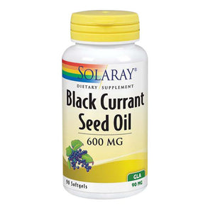 Black Currant Seed Oil 90 Softgels by Solaray (2590228381781)