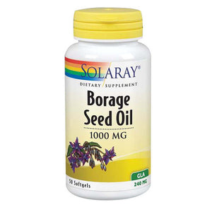 Borage Seed Oil 50 Softgels by Solaray (2590228709461)