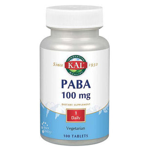 PABA 100 Tabs by Kal