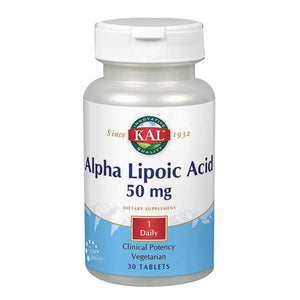 Alpha Lipoic Acid 30 Tabs by Kal