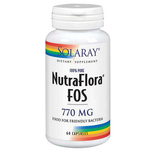 NutraFlora FOS 60 Caps by Solaray (2590230872149)