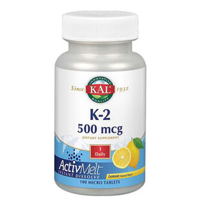K-2 ActivMelt Lemon 100 Tabs by Kal