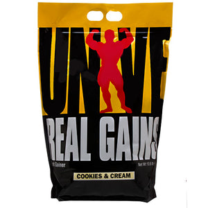 REAL GAINS Cookies and Cream 10.5lbs by Universal Nutrition
