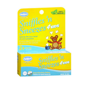 Hylands Sniffles And Sneezes 4 Kids 125 tabs by Hylands (2584198512725)