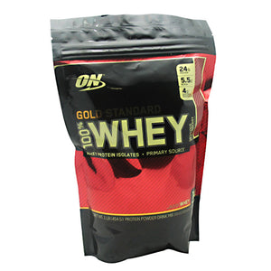 100% Whey Gold Strawberry 1 lbs by Optimum Nutrition