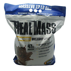 Real Mass Chocolate Ice Cream 12 lbs by Gaspari Nutrition