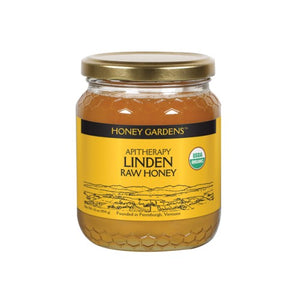 Raw Honey Linden 1 lb by Honey Gardens Apiaries